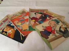 DELL SET 5 COMICS ELMER FUDD, MICKEY MOUSE, LOONEY TUNES, PORKY PIG 1954