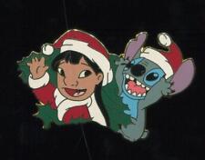 12 Months of Magic Christmas Wreath Set Lilo and Stitch Disney Pin 16960