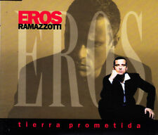 EROS RAMAZZOTTI - TIERRA PROMETIDA CD SINGLE 1 TRACK PROMO 1998 EXCELLENT COND