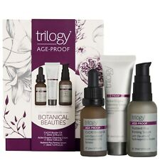 Trilogy Age-ProofBotanical Beauties Gift Set CoQ10 Booster Oil,Serum,Cleanser