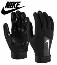 Nike Mens Hyperwarm Player Gloves II Football Training Running Adults Black S L
