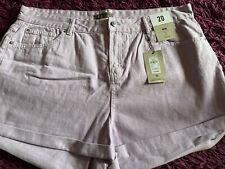 Ladies Mom Lilac Shorts Size 20 New