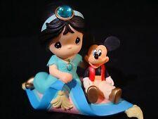zb Precious Moments-Disney's Aladdin-Jasmine and Mickey Mouse/Magic Carpet Ride