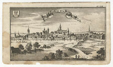 Neunburg devant la forêt: Neubourg devant la waldt. - cuivre clés de A. w. ERTL, 1687-1690
