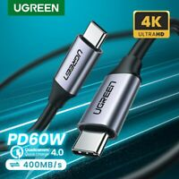 Ugreen USB 3.1 Type C to USB C 3A Quick Charge Cable PD Power Cord Fr Samsung S9