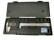 "Lcd Stainless Steel Digital Micrometer Vernier Caliper 6"""