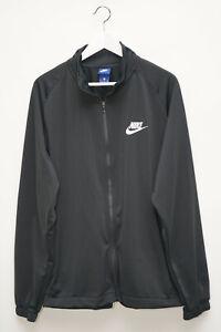 Nike Trainingsjacke Tracktop Sweatjacke Schwarz Herren Gr. XL