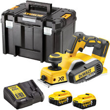 Dewalt DCP580N 18V Brushless Planer with 2 x 5.0Ah Batteries & Charger in Case