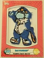 Raymond 2020 TOPPS OPENING DAY MASCOT PATCH CARD MPR-R 96/99 Tampa Bay