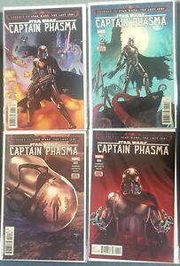 Captain Phasma #1-4 Marvel Comics Complete Set! 2017 VF-NM 8.0-9.0 or Better!