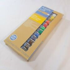 Artist's Loft Fundamentals Oil Paint 12 Tubes of 0.4 fl oz  Sealed New 12 Colors