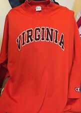 Vintage VIRGINIA Champion Brand 50/50% Cotton/Nylon Orange T Shirt. Size XL USA.