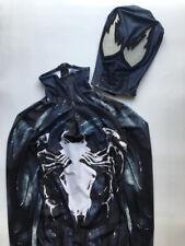 Venom Symbiote Edward Brock Cosplay Costume Black Spider Man Bodysuit Jumpsuits