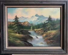 Original Oil Painting 1975 Tan Chun Chiu Framed T.C. Chiu Chinese Art landscape