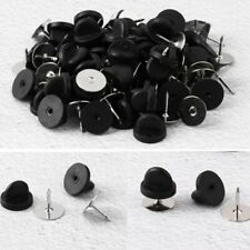 50Pcs_Tie Tacks Blank Pins with Plastic Pin Backs for Jewelry Making Clothes DIY
