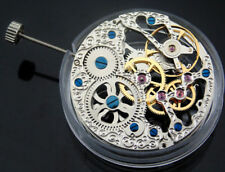 Full Skeleton Hand Winding 6497 watch mechanical movement Decorate for Watch p74