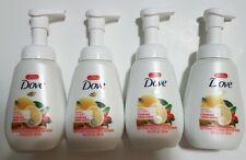 Lot 15 Dove Lemon & Goji Berry Foaming Hand soap Wash 6.8oz face read discontinu