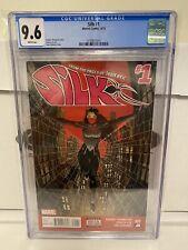 Silk #1 CGC 9.6 NM+ 1st print Marvel Comics 2015 wp not 9.8 MORE AUCTIONS!