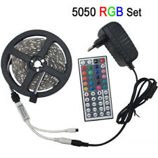 LED light 5050 RGB led strip 5m led tape non waterproof 30 LEDs/M 5 meters