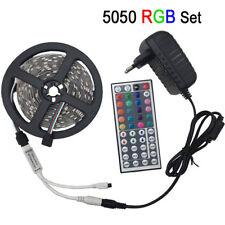LED light 5050 RGB led strip 5m led tape non waterproof 30 LEDs/M 5 meters