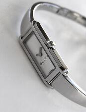 GUCCI Luxury Women's Watch, Silver Face, 109 model, GORGEOUS!!!