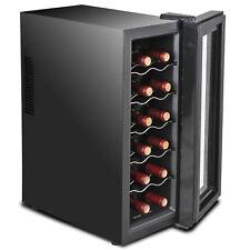 Wine Refrigerator Quiet Operation Digital Temperature Control Compact Cooler