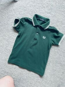 Boys Fred Perry / Lacoste / Boss T-shirt /Top Age 2-3