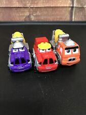 2000 Maisto Tonka Construction Truck Cement Mixer Lot Of 3 Toy Cars