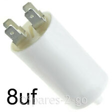 8uF Motor Start Run Interference Capacitor for HOOVER CANDY SERVIS Tumble Dryer