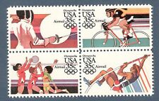 C109-112 Summer Olympics Block Of 4 Mint (Free shipping offer)