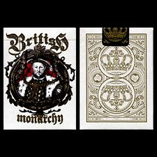 King Henry VIII (Limited Edition) British Monarchy Playing Cards by LUX Playing