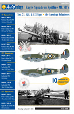 Eagle Squadron Spitfire Mk.VBs of 71, 121 – 1/72 scale Decals 'n Docs