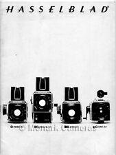 Hasselblad 500C/M SWC/M 500EL/M 2000FC Camera & Lenses Brochure 1979 More Listed