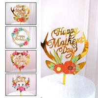 5x Acryl Happy Birthday Cake Topper Geburtstags Torten Stecker, Kuchen Dekor