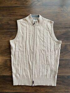 Peter Millar Merino Wool and Cotton Vest sz XL