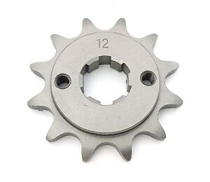 Parts Unlimited Front Sprocket - 520 - Honda CR250R/450R/480R/500R - 12T