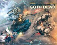 God Is Dead #8 Wraparound Variant Unread New Near Mint Avatar Press 2013  **28