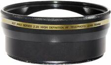 58mm 2.2X HD AF Telephoto Lens for Canon 40D XTi XT 10D 20D 30D 50D T5 T6 T6i