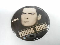 VINTAGE PROMO PINBACK BUTTON #83-009 - MOVIE - YOUNG GUNS #2
