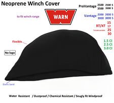 WARN Winch Neoprene Cover 1500 1700 2000 2500 3000 3500 Waterresist Snuglyfit 01
