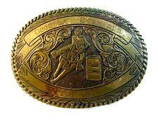 1776 - 1976 Osceola Stampede Rodeo Barrel Racing Crumrine Belt Buckle