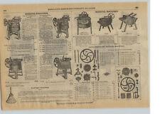 1915 PAPER AD 3 PG Wood Wooden Washing Machine Horton Globe Water Motor Norleigh