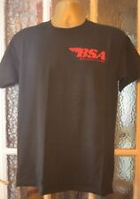 BSA T/SHIRT FRUIT OF THE LOOM HEAVEY  EMBROIDERED in uk (NOT PRINTED)