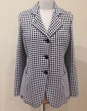 NEW Armani Collezioni black and white check jacket size 16 BEST PRICE: £85