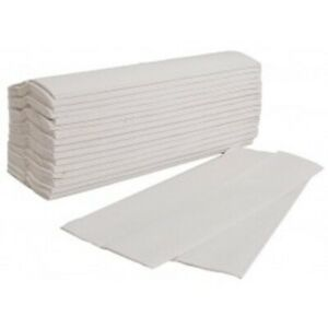 WHITE 2 PLY C-FOLD 2 PLY PAPER HAND TOWELS MULTI FOLD/ STANDARD QUALITY