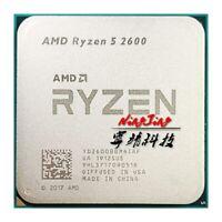 AMD Ryzen 5 2600 R5 2600 3.4 GHz Six-Core Twelve-Core 65W CPU Processor
