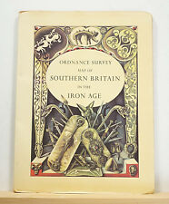 Ordnance Survey Map of Southern Britain in the Iron Age 1967 England History