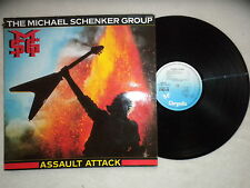 "LP THE MICHAEL SCHENKER GROUP ""Assault Attack"" CHRYSALIS CHR 1393 FRANCE §"