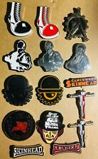 SKINHEAD Oi! Clockwork Orange Enamel Metal Pins  punk cockney sparrer business