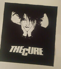 The Cure Robert Smith bauhaus deathrock gothic punk WGT BatCave BACK PATCH